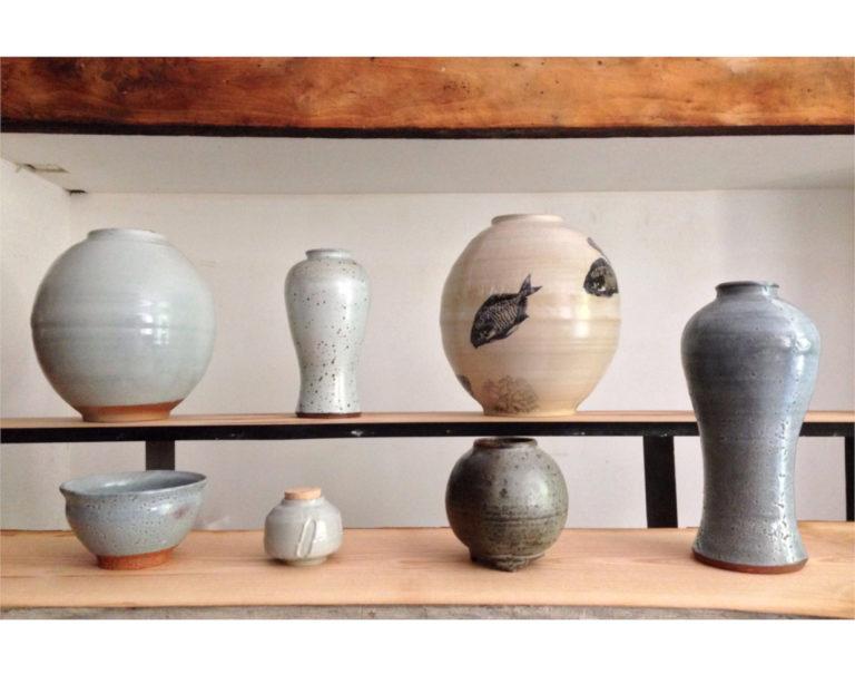 Sebastien-de-Groot-Galerie-ensemble-celadon-chun-cuisson-phoenix